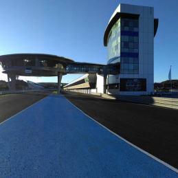 Edificio del Circuito de Jerez en Jerez de la Frontera