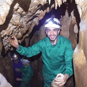 Espeleología en las Cuevas de la Excéntrica y Fuensanta