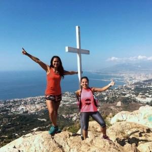 Subida al Monte Antón con Málaga Tour Running en Málaga
