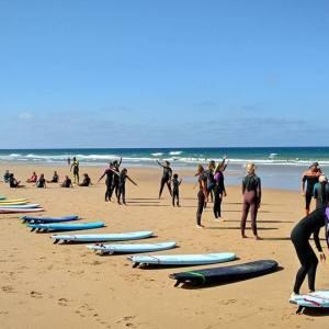 Surfcamp en la Playa del Palmar en Cádiz