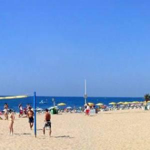 Las Playas en Calella en Cataluña
