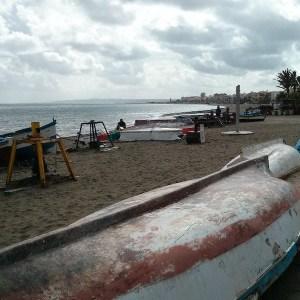 La Playa de La Rada en Estepona
