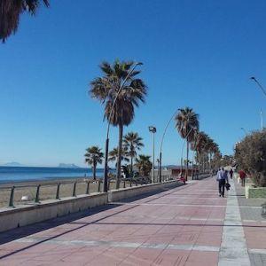 El Paseo Marítimo de Estepona