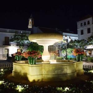 La Plaza de las Flores en Estepona