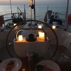 Paseo en barco en Valencia