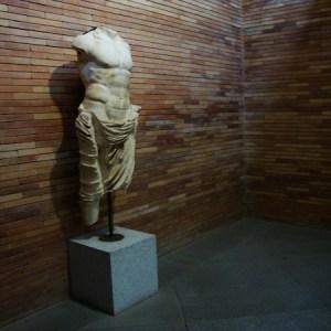 El museo nacional de arte romano en Mérida