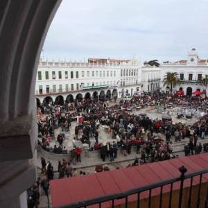 La Plaza Mayor de Llerena