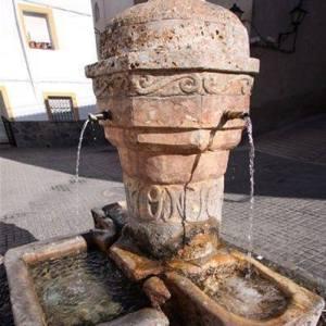 Las fuentes en Laujar de Andarax