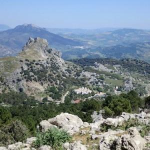 El parque natural sierra de Grazalema