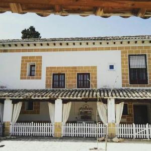 Fachada del alojamiento rural San Juan Bautista en Cazorla en la provincia de Jaén