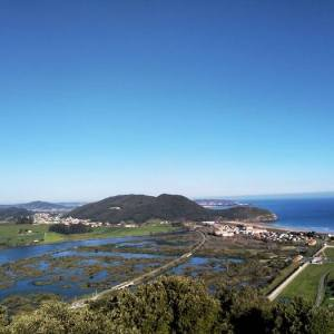El Parque Natural de las Marismas de Santoña