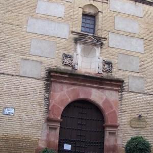 Fachada del museo de artes plásticas en Andújar