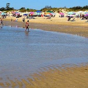 Playa de Urbasur en Isla Cristina