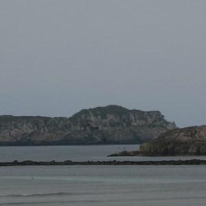 La isla de los Conejos en Suances en Cantabria