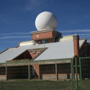 Estación de meteorología en Autilla del Pino
