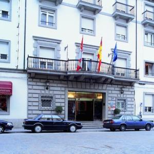 Fachada del hotel Colón Béjar en la provincia de Salamanca