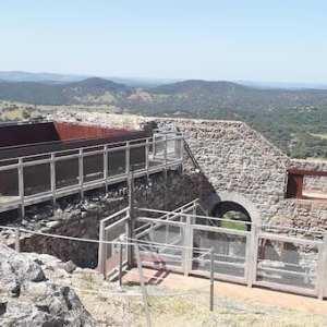 Recinto fortificado del castillo de Aracena