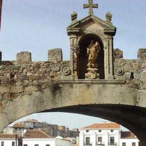 El Arco de la Estrella en Cáceres