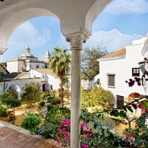 Ruta de los jardines históricos en Sanlúcar de Barrameda