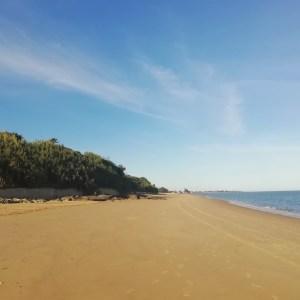 La playa de la Jara en Sanlúcar de Barrameda