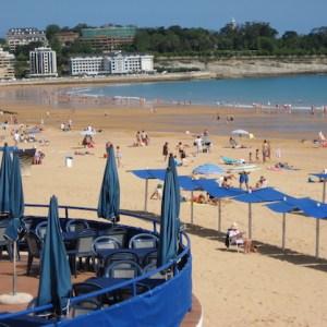 La playa del Sardinero