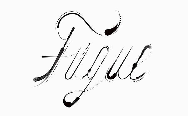 Logotipo de Fugue, Sagmeister & Walsh, 2015.