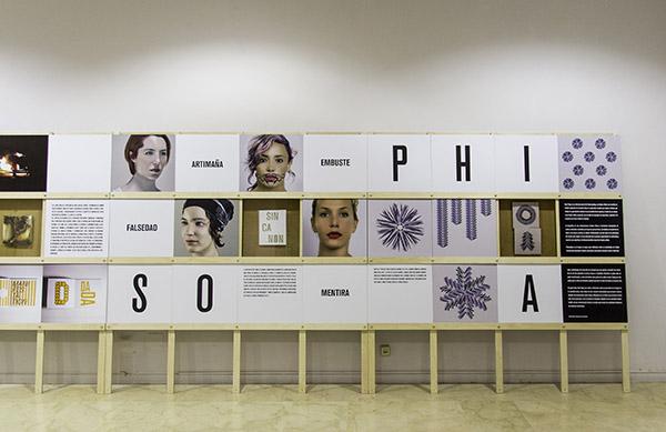 Philosophia, de Xosé Teiga, 2015.