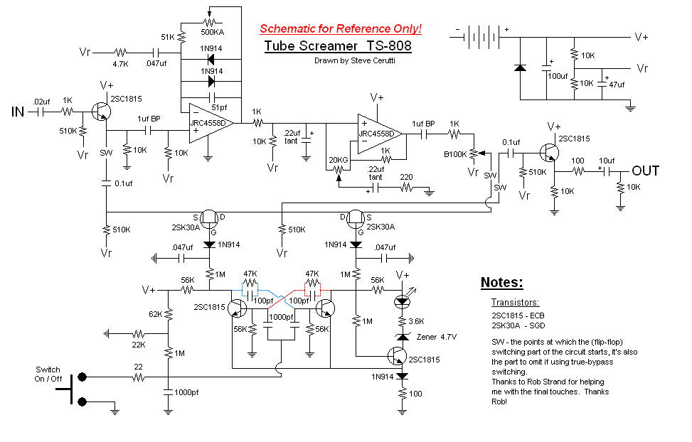 ibanez rg wiring diagram telephone wall plate australia experimentalists anonymous diy archives ts 808