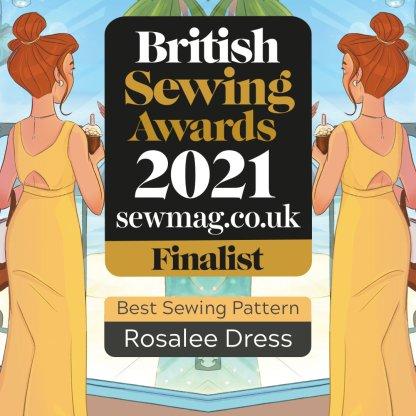 Rosalee Dress - Finalist British Sewing Awards 2021