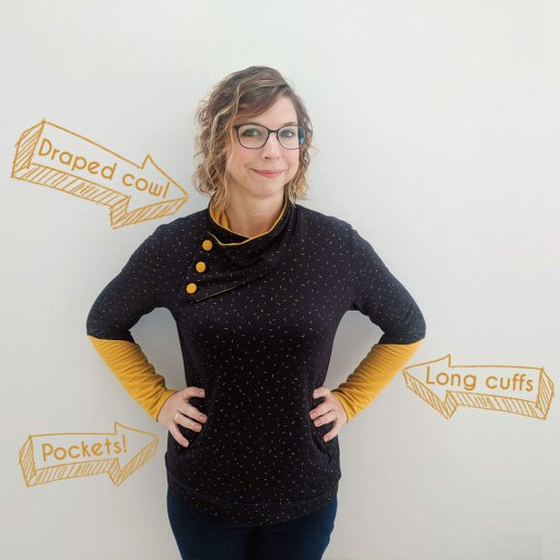 Casey Sweater : Sewing Pattern