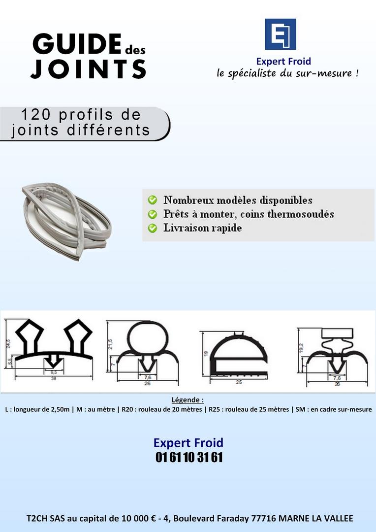JOINTS DE FRIGO et DE CHAMBRES FROIDES