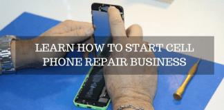 business plan - phone repair india