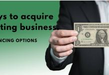 purchase an existing business
