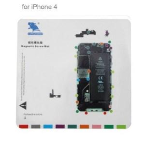 Repère magnétique pour iPhone 4