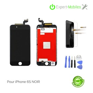 ECRAN LCD + VITRE TACTILE  iPhone 6s PREMIUM PLUS NOIR