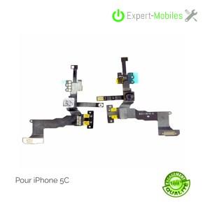 Nappe caméra frontale Facetime, capteur de proximité micro ambiance iPhone 5C