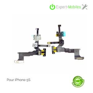 Nappe caméra frontale Facetime capteur de proximité micro d'ambiance iPhone 5S