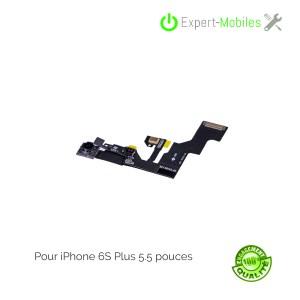 Nappe caméra frontale, capteur de proximité micro secondaire pour iPhone 6S Plus