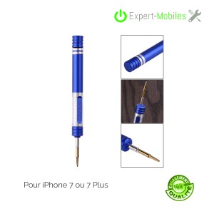 OUTIL TOURNEVIS iphone 8/7 TRI-WING Y0.6 AIMANTE IPHONE 7/7 PLUS triwing outils