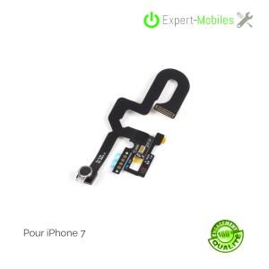 Nappe caméra frontale, capteur de proximité, micro pour iPhone 7
