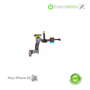 Nappe caméra frontale, capteur de proximité, micro haut iPhone SE