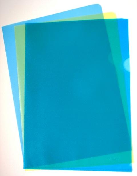 Fascikla PVC-L ,u boji