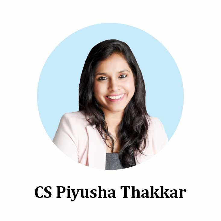 CS Piyusha Thakkar