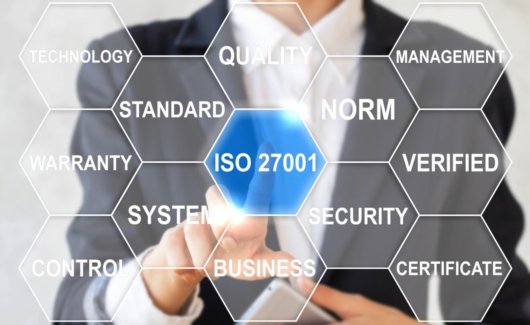 ISO 27001 certification Ohio