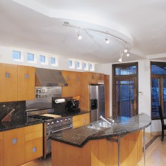 Kitchen Track Lighting Fixtures Kidkraft Deluxe Big & Bright 53100 Curved Uk  Home Decor