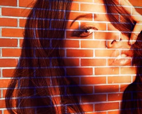 How to create Transform a Photo into a Brick Wall Portrait tin Photoshop