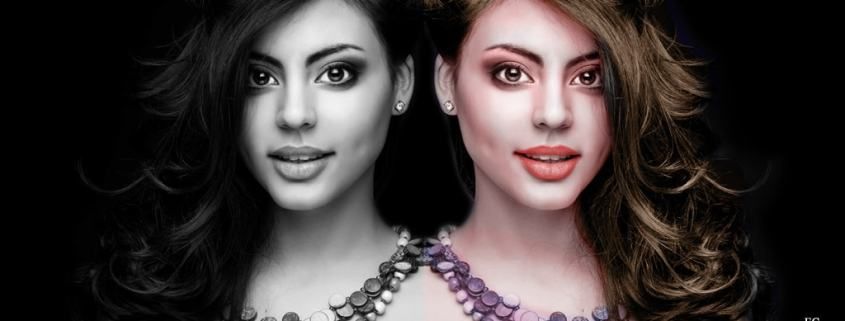 How To Colorize Black and White Image In Photoshop
