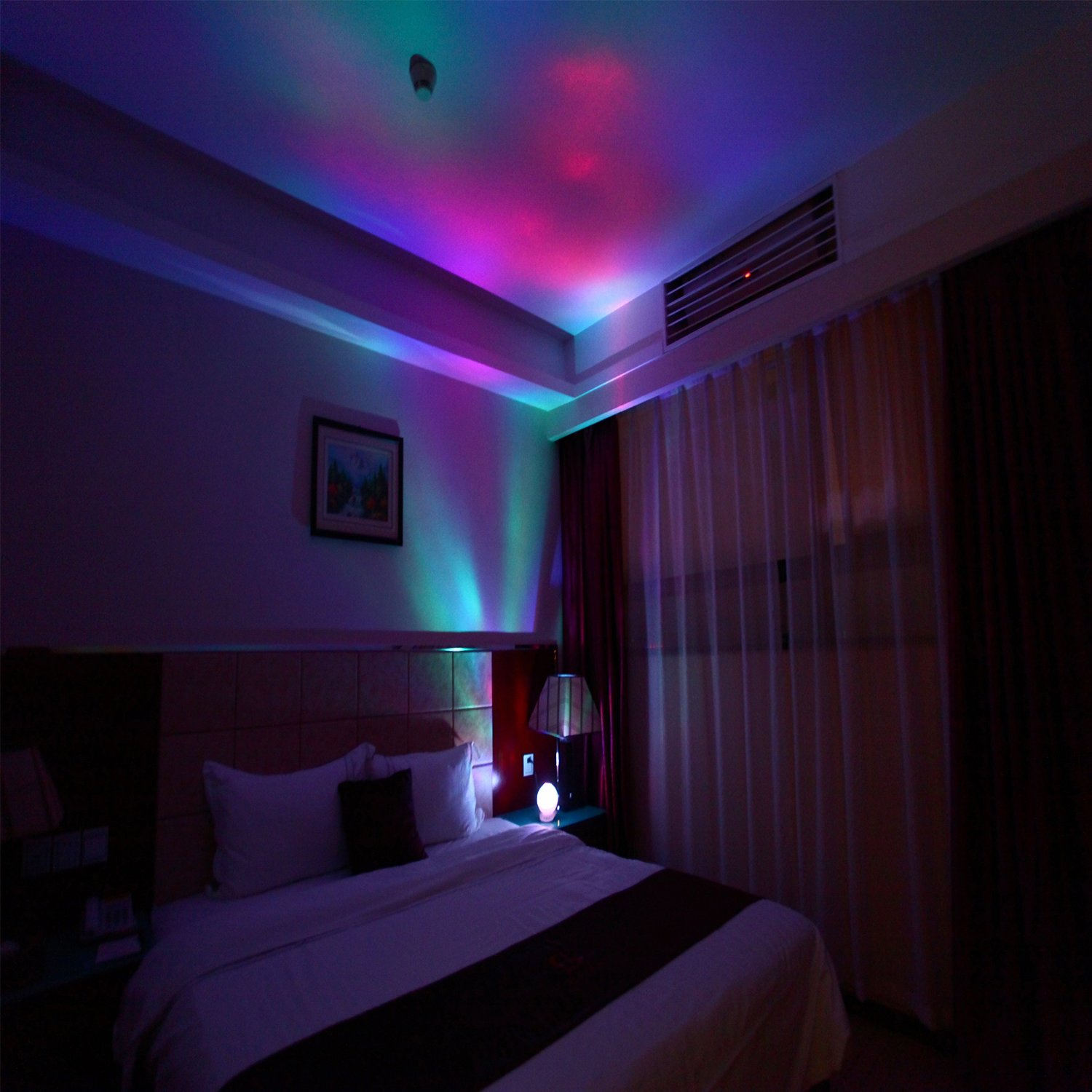 Color Changing Northern Lights Projector  Expertly Chosen Gifts