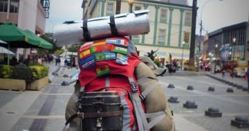 Backpackerrucksack