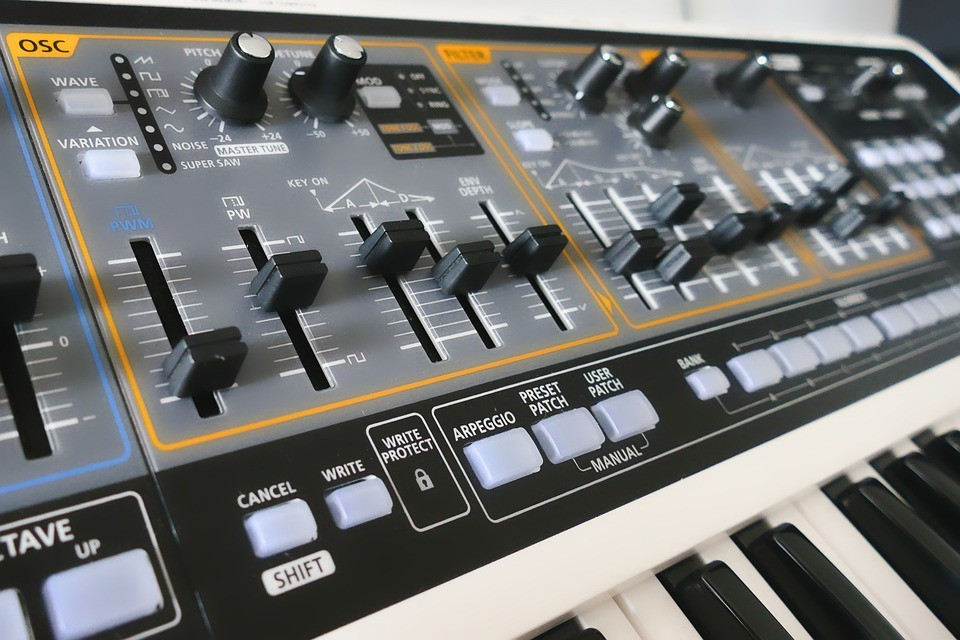 Vintage-Synthesizer